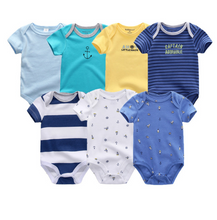 Load image into Gallery viewer, Newborn Baby Rompers Clothing 7Pcs/Lot Infant Jumpsuits - shopbabyitems