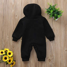 Load image into Gallery viewer, Rompers Cotton Long Sleeve mini boss Hooded kids Jumpsuits onesie - shopbabyitems