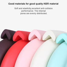 Load image into Gallery viewer, 2M Soft Baby Safety Desk Table Edge Guard Strip Security L-Shaped Kids Protection Bumper Edge Angle Home Anti-collision Strip - shopbabyitems