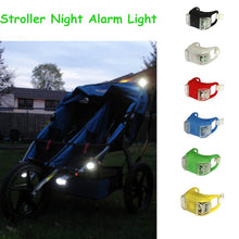 Load image into Gallery viewer, 2PCS Baby Stroller Night Light Waterproof Silicone Caution lamp Outdoor Security Safety Alert LED Flash remind Caution Lamp - shopbabyitems