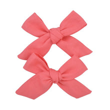 Load image into Gallery viewer, 2Pcs/set 3inch Boutique Grosgrain Ribbon Printed Bows With Clips - shopbabyitems
