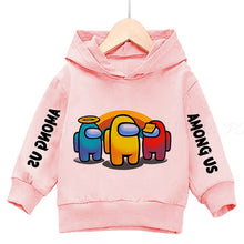 Load image into Gallery viewer, 3-14Years Among Us Boys Hoodies Impostor 100% Cotton Streetwear New Video Game kids Sweatshirt Girls Among Us Children Hoodie - shopbabyitems