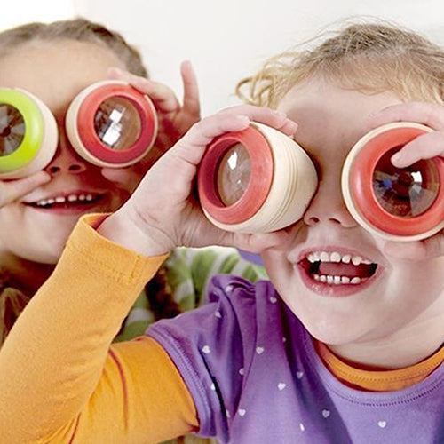 Best Wooden Educational Kaleidoscope Baby Children Learning Puzzle Sensory Toy - shopbabyitems