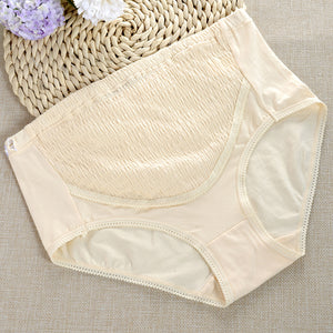 Pregnant Women Elastic Adjustable Cotton Maternity High Waist Briefs Underpants - shopbabyitems