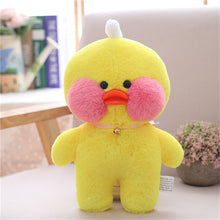 Load image into Gallery viewer, 30cm Cartoon Cute LaLafanfan Cafe Duck Plush Toy Stuffed Soft Kawaii Duck Doll Animal Pillow Birthday Gift for Kids Children - shopbabyitems