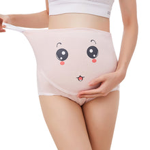 Load image into Gallery viewer, Adjustable Pregnant Women Panties Belly Support Cartoon Expression Underwear - shopbabyitems