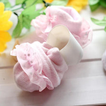 Load image into Gallery viewer, Kid Infant Baby Girl Cotton Socks Lace Flower Bow Princess Soft Summer Stockings - shopbabyitems