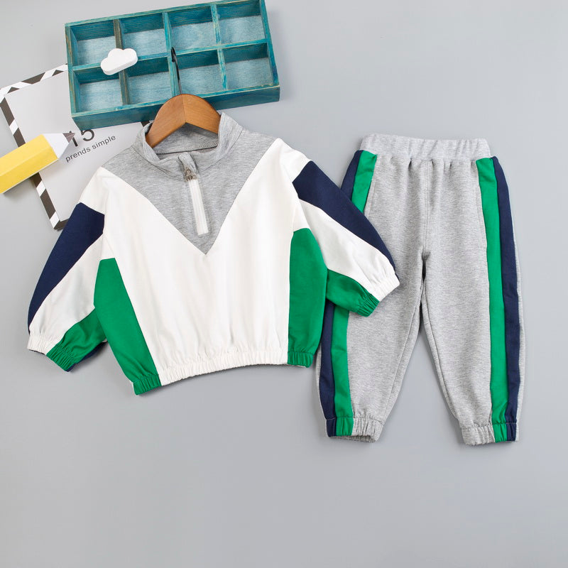 Boy sports wind suit - shopbabyitems