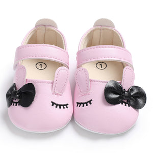 Toddler Baby Girl Bowknot Anti-slip Princess Shoes Prewalkers Soft Sole Flats - shopbabyitems