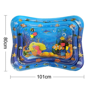 36 Designs Baby Kids Water Play Mat Inflatable PVC Infant Tummy Time Playmat - shopbabyitems