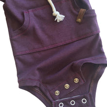 Load image into Gallery viewer, Newborn Infant Baby Boys Girls Romper Hooded Sweatershirt Bodysuit Outfit - shopbabyitems