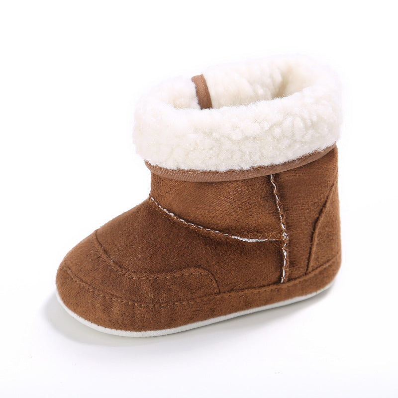 Toddler Soft Rubber Soled Anti-slip Boots Booties - shopbabyitems