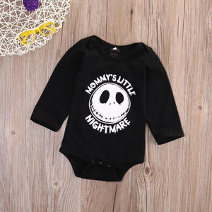 Newborn Infant Baby Boys Girls Long Sleeve Romper Jumpsuit Halloween Outfit - shopbabyitems