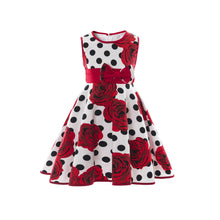 Load image into Gallery viewer, Summer Infant princess dress skirt cherry print dress one generation - shopbabyitems