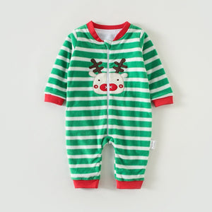 3M-12M Infant Footies Newborn Baby Boys Girls Winter Clothes Colorful 100% Cotton Character Clothing Unisex Autumn Jumpsuits - shopbabyitems