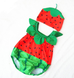 Baby child pineapple one-piece swimsuit - shopbabyitems