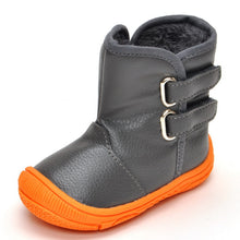 Load image into Gallery viewer, shoes soled boots warm toddler - shopbabyitems