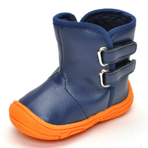 shoes soled boots warm toddler - shopbabyitems