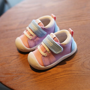 Canvas Shoes Soft Bottom Comfortable Non-slip Kid Baby First Walkers Shoes - shopbabyitems