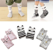 Load image into Gallery viewer, Cute Baby Leg Warmers Cartoon Pattern Tights Leggings Cotton Knee-High Socks - shopbabyitems