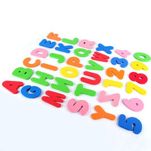 Load image into Gallery viewer, 36pcs (26 Letters + 10 Number) Baby Foam Letter and Numbers Stickers - shopbabyitems
