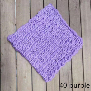 50*50cm   Handcraft Acrylic Fiber Blanket Basket Stuffer Filler Newborn Baby Photography Background - shopbabyitems