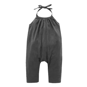 Cute Suspenders Newborn Infant Baby Backless Sleeveless Romper Jumpsuit Gift - shopbabyitems