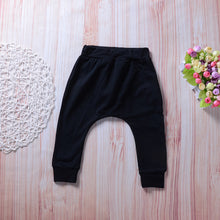 Load image into Gallery viewer, Newborn Toddler Baby Boy Girl Long Trousers Boss Letter Print Harem Pants Gift - shopbabyitems
