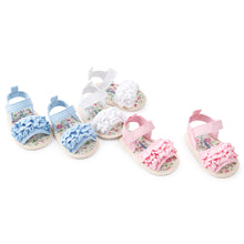 Load image into Gallery viewer, Lovely Infant Baby Girls Soft Sole Princess Sandals Prewalker Toddler Shoes - shopbabyitems