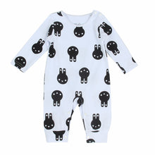 Load image into Gallery viewer, Fashion Infant Baby Girl Boy Rabbit Print Long Sleeve Romper Jumpsuit Warm Gift - shopbabyitems