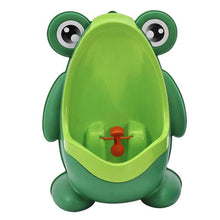 Load image into Gallery viewer, Baby Boy Potty Toilet Training Frog Children Stand Vertical Urinal Wall-Mounted - shopbabyitems