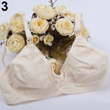 Load image into Gallery viewer, Women Nursing Maternity Breastfeeding 34/36/38/40/42 Wireless Unlined Cotton Bra - shopbabyitems