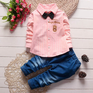 Children Clothing Sets Autumn Sport Suit Baby Boys Clothes - shopbabyitems