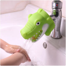 Load image into Gallery viewer, Happy Funny Animals Shower Brushes Babies Tubs Kids Hand Washing - shopbabyitems
