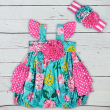 Load image into Gallery viewer, Baby Girls Ruffle Clothing Flower Top - shopbabyitems