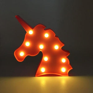 Baby Unicornion Led Table Night Lights Unicorn - shopbabyitems