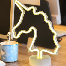 Load image into Gallery viewer, Baby Unicornion Led Table Night Lights Unicorn - shopbabyitems
