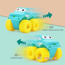 Load image into Gallery viewer, 5PCS Soft Rubber Car Boy Toys Girl Animals Vehicles Push and Back Wheels Car Water Bath Toys For Children Kids Toddler Crawl Toy - shopbabyitems
