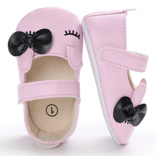 Load image into Gallery viewer, Toddler Baby Girl Bowknot Anti-slip Princess Shoes Prewalkers Soft Sole Flats - shopbabyitems