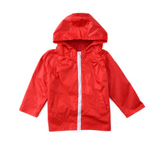 Load image into Gallery viewer, Kids Children Waterproof Lightweight Jacket Outwear Hooded Raincoat Clothing - shopbabyitems