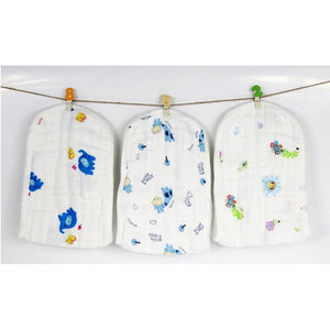 Wash Cloth Baby Diaper Reusable Muslin Gauze Clorful Printed Soft Nappy Liners - shopbabyitems