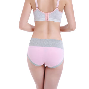 High Waist Pregnant Women Maternity Seamless Cotton Underpants Briefs Underwear - shopbabyitems