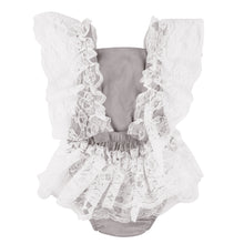 Load image into Gallery viewer, Toddler Infant Newborn Baby Girl Sweet Lace Ruffled Romper Bodysuit One-Piece - shopbabyitems