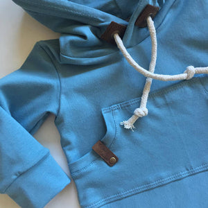 Newborn Infant Baby Boys Girls Romper Hooded Sweatershirt Bodysuit Outfit - shopbabyitems