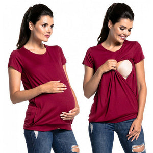 Maternity breastfeeding T-shirt - shopbabyitems
