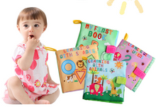 Load image into Gallery viewer, New Baby Toys Infant Kids Early Development Cloth Books - shopbabyitems