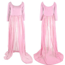 Load image into Gallery viewer, Fashion Pregnant Long Maxi Dress Chiffon Maternity Photography Props Clothes - shopbabyitems