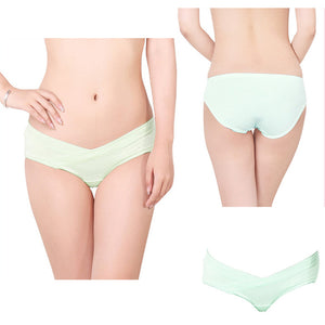 Pregnant Women Maternity Mother Cotton U Shape Low Rise Underwear Panties Briefs - shopbabyitems