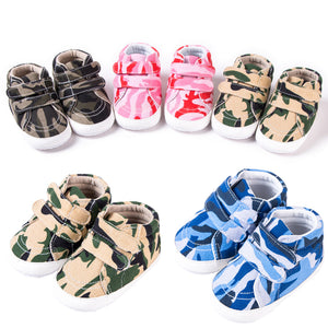 Fashion Toddler Baby Boy Girl Camouflage Soft Sole Casual Shoes Prewalker Crib - shopbabyitems