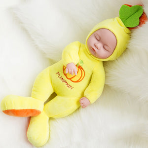 35CM Plush Stuffed Toys Baby Dolls Reborn Doll Toy - shopbabyitems